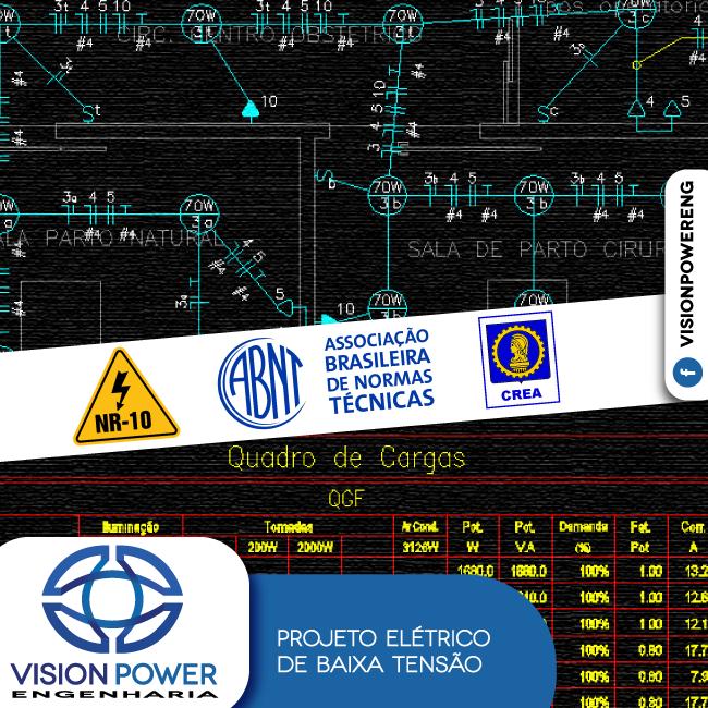 Projetos Elétricos Grande Vitória/ES